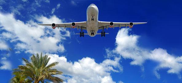 Blisko lotniska Indie